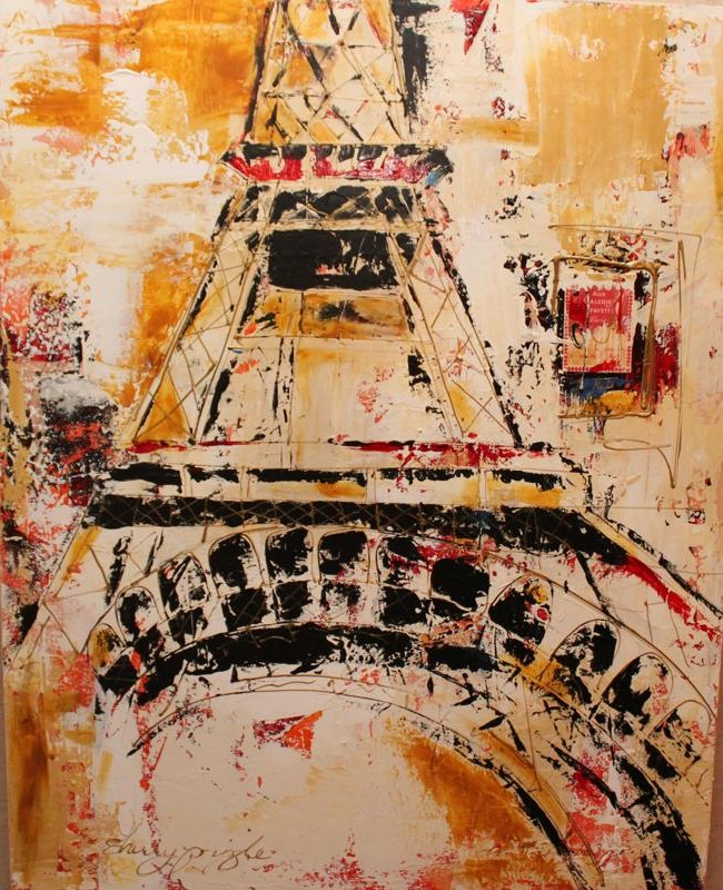 Tour d'Eiffel, Collage