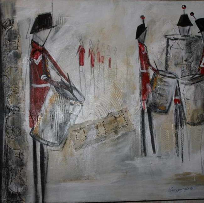 The Drum Major, Collage